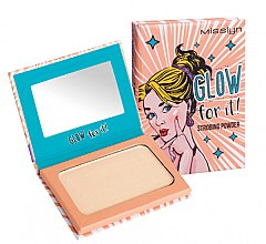 Düfte, Parfümerie und Kosmetik Highlighting Puder - Misslyn Glow For It! Strobing Powder Highlighter