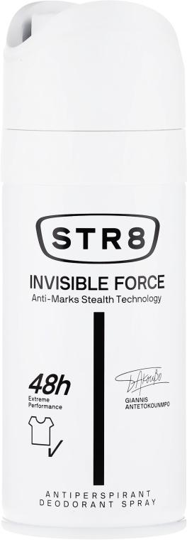 Deospray Antitranspirant - STR8 Invisible Force Antiperspirant Deodorant Spray — Bild N1
