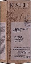 Düfte, Parfümerie und Kosmetik Tief feuchtigkeitsspendendes Gesichtsserum mit Reis, Quinoa- und Chia-Extrakt - Revuele Natural Line Hydrating Serum