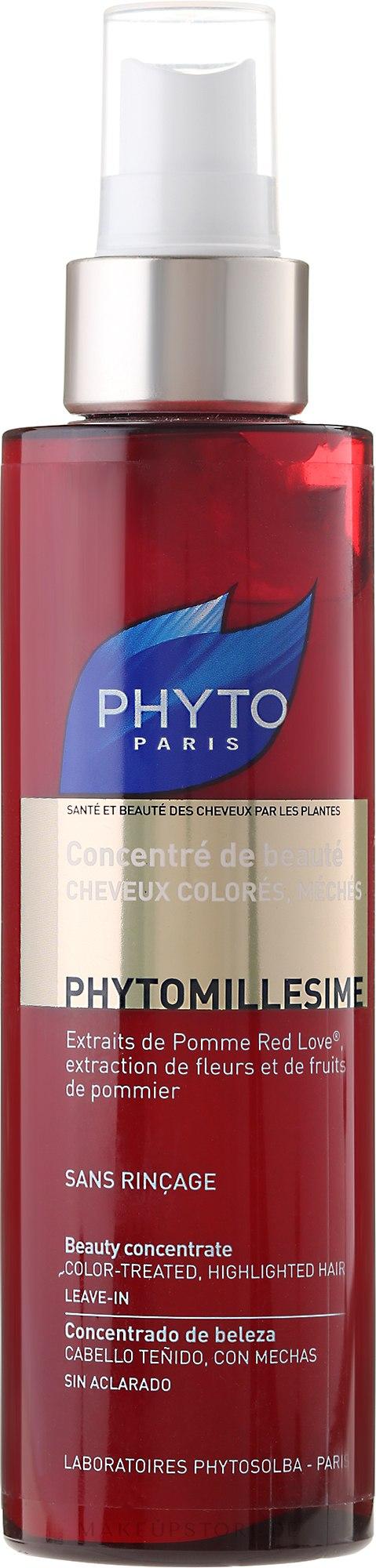Schützendes und feuchtigkeitgebendes Konzentrat für coloriertes und gesträhntes Haar - Phyto Phytomillesime Color-Treated Beauty Concentrate — Bild 150 ml