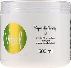Düfte, Parfümerie und Kosmetik Haarmaske - Stapiz Vital Repair Dual Hairtip 60s Mask