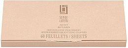 Düfte, Parfümerie und Kosmetik Mattierendes Spezialpapier für das Gesicht - Serge Lutens Powdered Blotting Paper