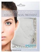 Düfte, Parfümerie und Kosmetik Gesichtsmaske mit Kollagen zur Stärkung der Kapillaren - Beauty Face Collagen Capillaries Strengthening Home Spa Treatment Mask