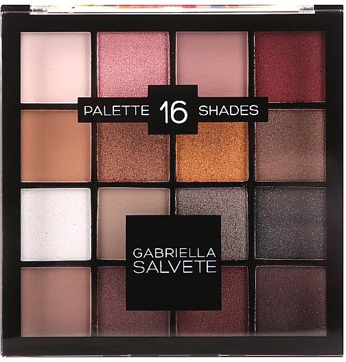 Lidschatten-Palette - Gabriella Salvete Palette 16 Shades II