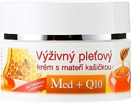 Nährende Gesichtscreme mit Honig und Q10 - Bione Cosmetics Honey + Q10 Cream — Bild N2