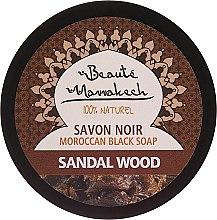 Düfte, Parfümerie und Kosmetik Natürliche marokkanische schwarze Seife mit Sandelholz - Beaute Marrakech Black Soap
