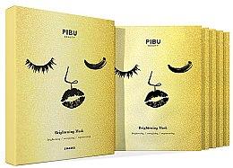 Düfte, Parfümerie und Kosmetik Gesichtsmaske 5 St. - Pibu Beauty Brightening Mask Set (Gesichtsmasken 5x29ml)