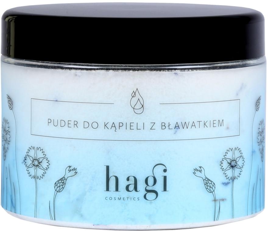 Badepuder mit Kornblumenextrakt - Hagi Bath Puder — Bild N1