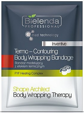 Wickelverband mit Thermoeffekt - Bielenda Professional Termo-Contouring Wrapping Bandage — Bild N1