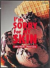 Düfte, Parfümerie und Kosmetik Tuchmaske zur Porenverfeinerung mit Kastanienschale - Ultru I'm Sorry For My Skin Pore Care Mask