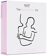 Düfte, Parfümerie und Kosmetik Baby & Mom Set - Naif Baby & Mom Kit (Körperöl 100ml + Körperpeeling 75ml + Haarcreme 75ml)
