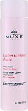 Düfte, Parfümerie und Kosmetik Sanfte Gesichtslotion mit Rosenblättern - Nuxe Gentle Toning Lotion With Rose Petals
