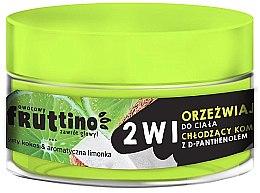 Düfte, Parfümerie und Kosmetik 2in1 Erfrischendes Körpersorbet mit Limette und Kokosnuss - Marion Fruttino 2in1 Coconut Lime Body Sorbet
