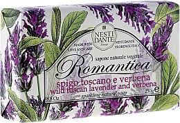 Düfte, Parfümerie und Kosmetik Naturseife Wild Tuscan Lavender & Verbena - Nesti Dante Natural Soap Romantica Collection