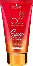 Düfte, Parfümerie und Kosmetik 2in1 Haarbehandlung mit Buritiöl und UVA/UVB-Filter - Schwarzkopf Bonacure Sun Protect 2-in-1 Treatment