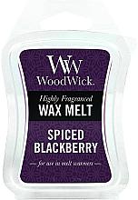 Düfte, Parfümerie und Kosmetik Tart-Duftwachs Spiced BlackBerry - WoodWick Wax Melt Spiced BlackBerry