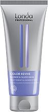 Düfte, Parfümerie und Kosmetik Anti-Gelbstich Haarmaske mit Lavendelextrakt - Londa Professional Color Radiance Blonde & Silver Mask