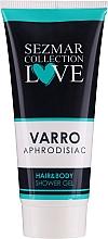 2in1 Duschgel für Haare und Körper - Hrisnina Cosmetics Sezmar Collection Love Varro Aphrodisiac Hair & Body Shower Gel — Bild N1