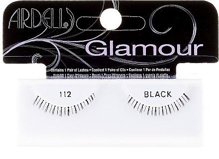 Künstliche Wimpern - Ardell Glamour Eyelashes Black 112 — Bild N1