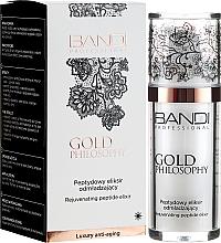 Düfte, Parfümerie und Kosmetik Verjüngendes Gesichtselixier mit Peptiden - Bandi Professional Gold Philosophy Rejuvenating Peptide Elixir