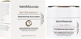Düfte, Parfümerie und Kosmetik Regenerierende reichhaltige Gesichtscreme für trockene und sehr trockene Haut - Bare Escentuals Bare Minerals Butter Drench Restorative Rich Cream