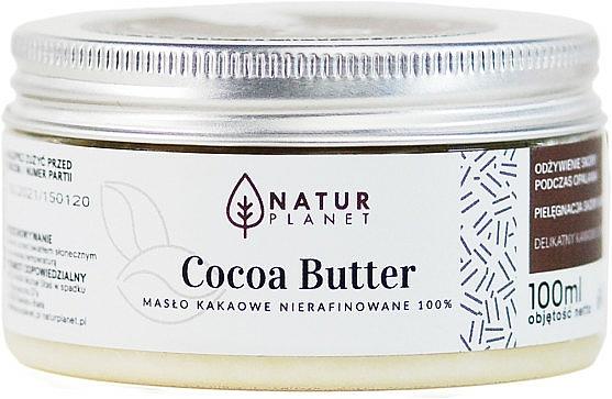 100% Unraffinierte Kakaobutter - Natur Planet Cocoa Butter