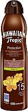Düfte, Parfümerie und Kosmetik Sonnenöl SPF 15 - Hawaiian Tropic Protective Argan Oil Spray SPF 15