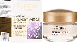 Düfte, Parfümerie und Kosmetik Anti-Falten Augencreme für die Nacht mit Adenosin und Koffein 60+ - L'Oreal Paris Age Expert Anti-Wrinkle Rebuilding Eye Cream