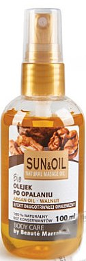 Massageöl für den Körper Arganöl & Walnuss - Beaute Marrakech Sun & Oil Massage Oil — Bild N1