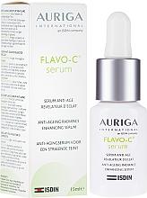 Düfte, Parfümerie und Kosmetik Anti-Aging Gesichtsserum für mehr Glanz mit Vitamin C und Gingko Biloba - Auriga Flavo-C Serum Anti-Age