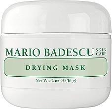Düfte, Parfümerie und Kosmetik Porenreinigende und beruhigende Gesichtsmaske mit Sulfur, Calamine und Gurkenextrakt für Problemhaut - Mario Badescu Drying Mask