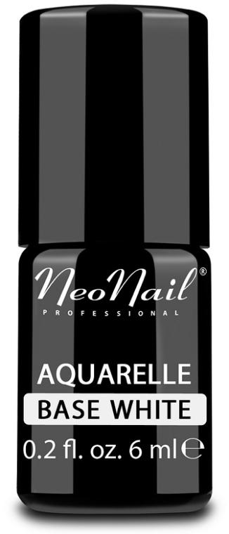 UV Nagelunterlack Aquarell weiß - NeoNail Professional Aquarelle Base White — Bild N1