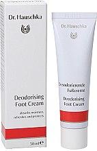 Düfte, Parfümerie und Kosmetik Desodorierende Fußcreme - Dr. Hauschka Deodorizing Foot Cream