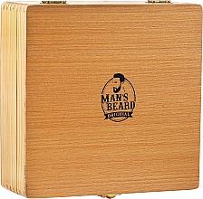 Düfte, Parfümerie und Kosmetik Rasierset - Man's Beard Razor Wood Brown Box