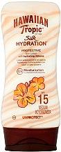 Düfte, Parfümerie und Kosmetik Feuchtigkeitsspendende Sonnenschutzlotion für den Körper SPF 15 - Hawaiian Tropic Silk Hydration Sun Lotion SPF 15
