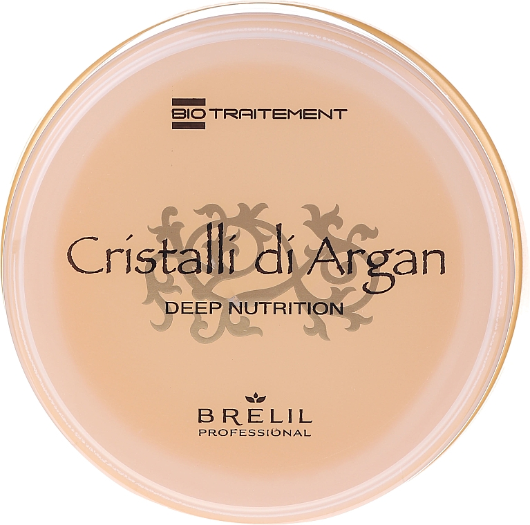 Tief pflegende Haarmaske mit Arganöl und Aloe Vera - Brelil Bio Traitement Cristalli d'Argan Mask Deep Nutrition — Bild N3