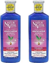 Düfte, Parfümerie und Kosmetik Shampoo gegen Haarausfall und Haarbruch mit Sägepalme und Koffein - Natur Vital Shampoo