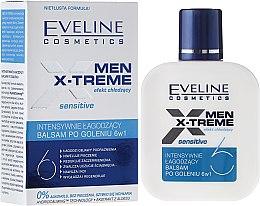 Düfte, Parfümerie und Kosmetik Intensiv beruhigende After Shave Lotion 6in1 - Eveline Cosmetics Men Extreme Sensitive