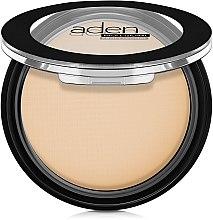 Düfte, Parfümerie und Kosmetik Mattierender Kompaktpuder - Aden Cosmetics Silky Matt Compact Powder