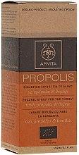 Düfte, Parfümerie und Kosmetik Bio-Sirup für den Hals mit Propolis und Thymian - Apivita With Propolis&Thyme