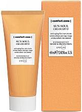 Düfte, Parfümerie und Kosmetik Sonnenschutzcreme für das Gesicht - Comfort Zone Sun Soul Face Cream SPF 15