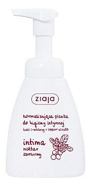 Schaum für die Intimhygiene mit Cranberry-Nektar - Ziaja Intima Foam — Bild N1