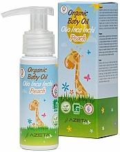 Düfte, Parfümerie und Kosmetik Bio-Öl für Babys mit Pfirsich und Inca-Inchi - Azeta Bio Organic Baby Peach Oil Inca Inchi