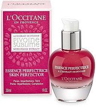 Düfte, Parfümerie und Kosmetik Gesichtsserum - L'Occitane Pivoine Sublime Perfecting Essence