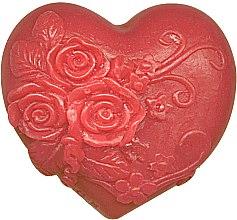 Düfte, Parfümerie und Kosmetik Glycerinseife Verliebtes Herz - Bulgarian Rose Soap