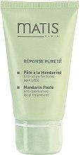 Düfte, Parfümerie und Kosmetik Mandarinenpaste für das Gesicht gegen Unvollkommenheiten und Reizungen - Matis Reponse Purete Mandarin Paste Anti-Blemish Spot Treatment
