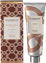 """Düfte, Parfümerie und Kosmetik Glasshouse Monte Carlo - Handcreme mit Sheabutter und Arganöl """"Monte Carlo"""""""