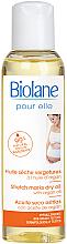 Düfte, Parfümerie und Kosmetik Trockenes Körperöl gegen Schwangerschaftsstreifen mit Bio Arganöl und Vitamin E - Biolane Mum Dry Body Oil