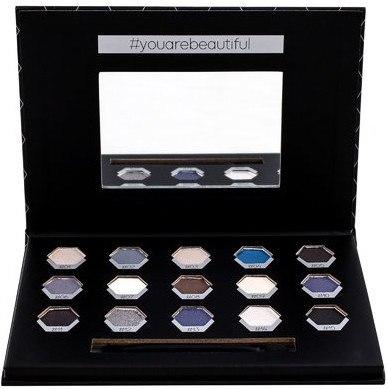 Lidschatten-Palette - Cosmetic 2K Polygon Eyeshadow Palette — Bild Smokey