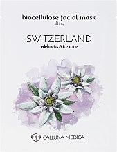 Tuchmaske für das Gesicht mit Lifting-Effekt Schweiz - Calluna Medica Switzerland Lifting Biocellulose Facial Mask — Bild N2